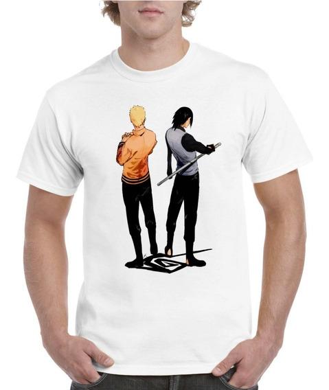 Camisas De Naruto Y Sasuke Anime Barato Tallas Disponibles