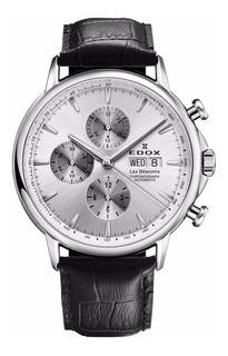 Reloj Edox Les Bémonts Chrono Automatic 011203ain Hombre