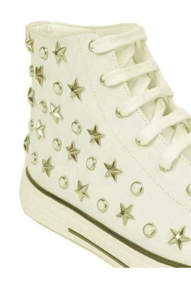 Tênis Bota Feminino 38/39 Cano Alto T All Star Le Lis Blanc