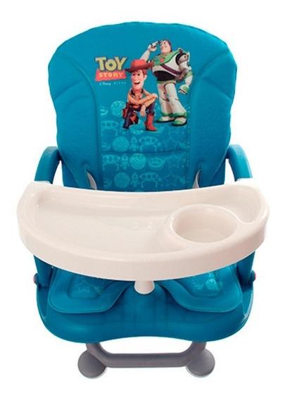 Cadeirinha Acolchoada E Compacta, Lavável Com 3 Níveis De Altura Cadeira De Alimentação Azul Toy Story Disney Dican