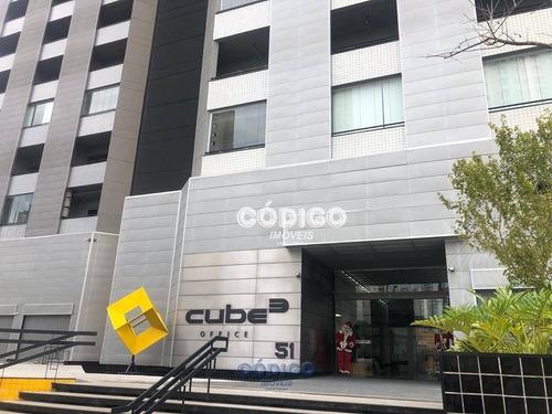 Imagem 1 de 26 de Sala Para Alugar, Cond. Cube, 76 M² Por R$ 4.300 - Vila Pedro Moreira - Guarulhos/sp - Sa0311