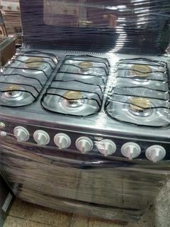 Cocina Indurama 6 Quemadores Con Grill Renovada