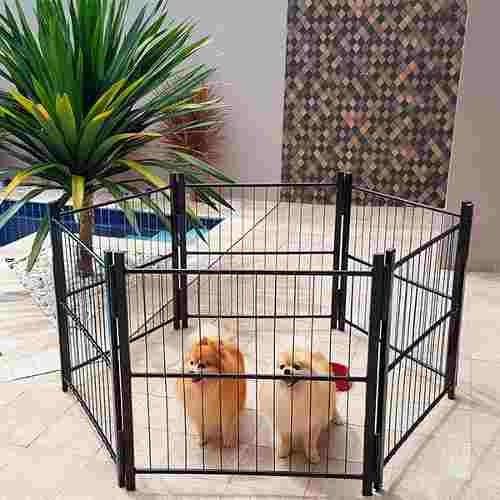 Casinha Cachorro Cercado Pet Filhotes Cão 6/80cm Com Portão