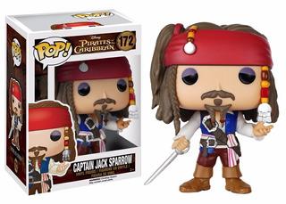 Jack Sparrow. Piratas Del Caribe. Funko Pop. Nuevo Cerrado