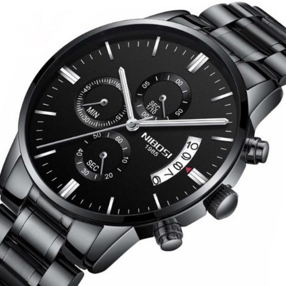 Relógio Masculino Nibosi 2309 Original À Pronta Entrega
