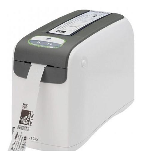 Impressora De Pulseiras Zebra Hc100 Usada