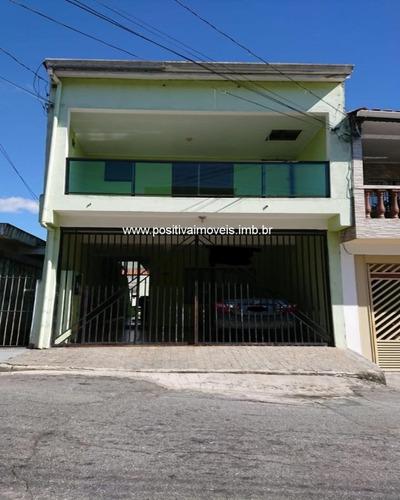 Imagem 1 de 15 de Sobrado Para Venda Em Osasco, Jaguaribe, 3 Dormitórios, 2 Suítes, 2 Banheiros, 2 Vagas - So00148_1-1998132