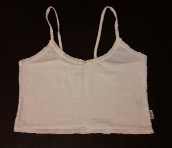 Remera Musculosa Corta Crop Top Pupera Guess