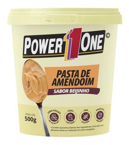 Imagem 1 de 4 de Pasta De Amendoim Integral Vários Sabores - Power One
