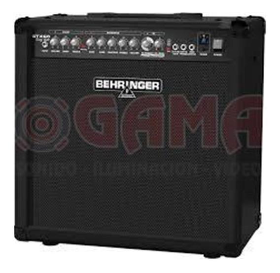 Combo Amplificador Guitarra 60w 12 Gtx60 Behringer 15000465