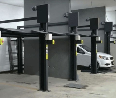 Elevador De Autos Para Estacionamientos, Eleva Autos