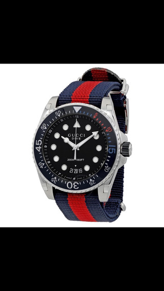 Relógio Gucci Dive 45mm