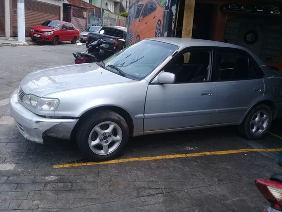 Toyota Corolla 1.8 16v Xei Aut. 4p Sucata Cambio Motor