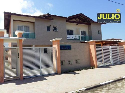 Imagem 1 de 30 de Sobrado Residencial À Venda, Vila Atlântica, Mongaguá. - So0634