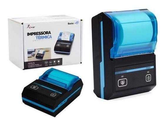 Mini Impressora Térmica Via Bluetooth Portátil Cupom K 1020