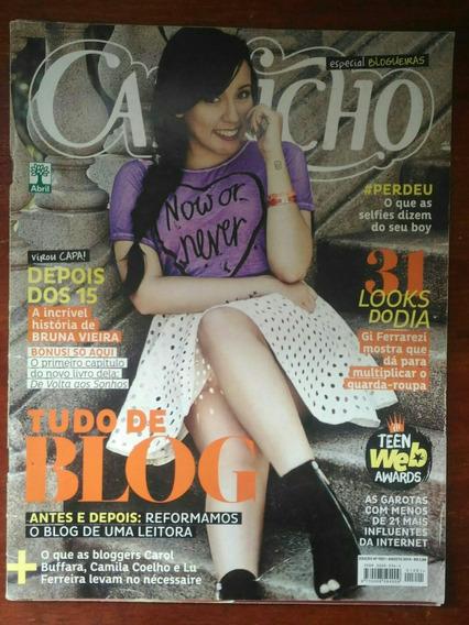 Revista Capricho Capa Bruna Vieira - N°1201