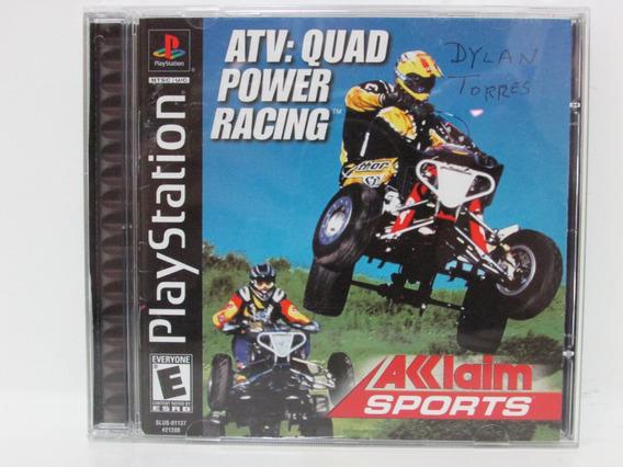 Atv: Quad Power Racing - Game Ps1 Original Completo