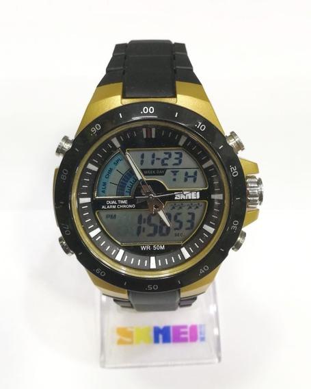 Relógio Esportivo Skmei Analógico/digital Luxo