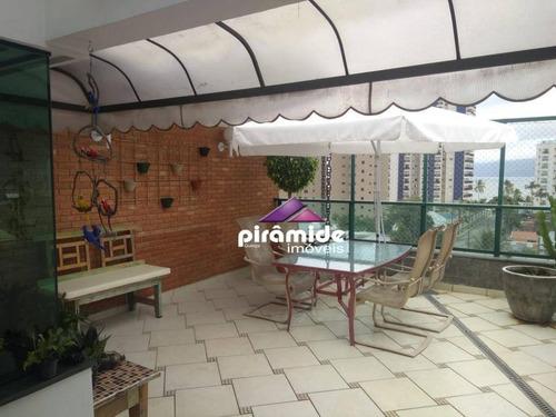 Cobertura À Venda, 272 M² Por R$ 1.000.000,00 - Martim De Sá - Caraguatatuba/sp - Co0111