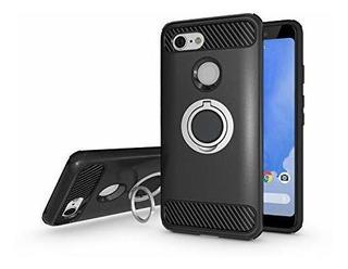 Newseego Compatible Con Google Pixel 3 Xl Estuche Armadura D