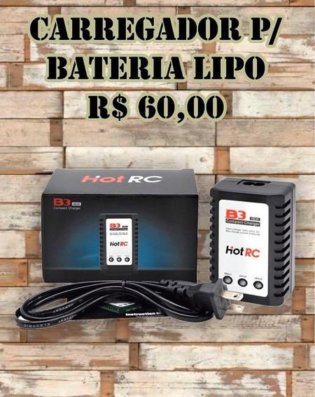 Carregador De Bateria Lipo B3 Airsoft