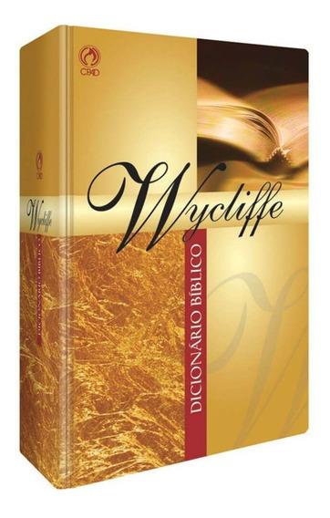 Dicionário Bíblico Wycliffe / Charles F / Capa Dura - Cpad