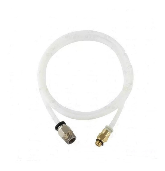 Tubo Teflon P/impressora3d 1,75mm Pc4-m6 C/conector P/hotend