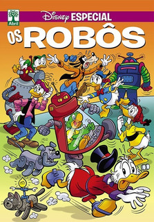 Revista Temática Disney Especial Os Robôs - Nova Série
