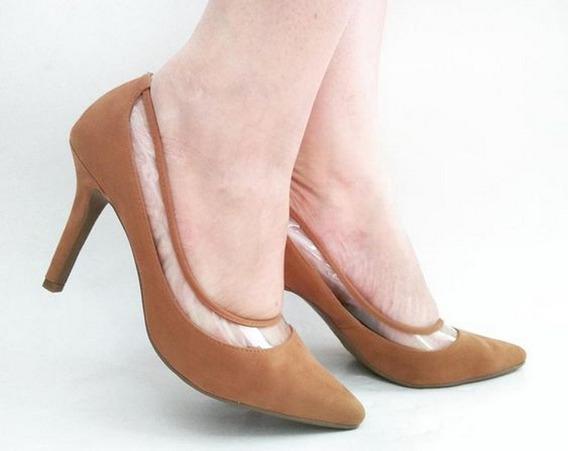 Sapato Scarpin Salto Alto Bico Fino Akcalçados Frete Grátis