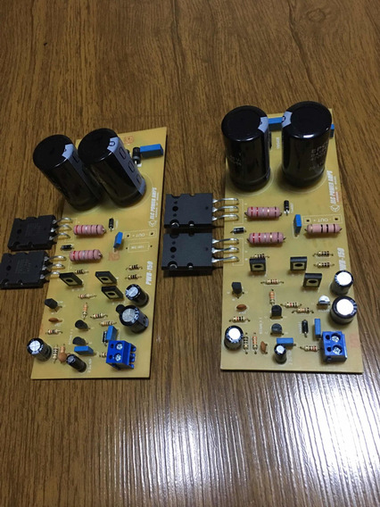 02 Placas Montada Amplificador Hi End