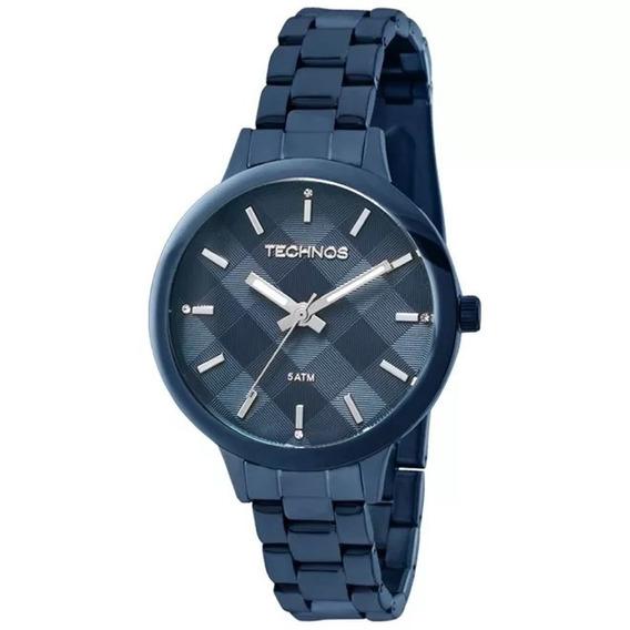 Relógio Technos Feminino Azul Elegance Trend - Loja
