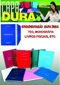 Encadernação Capa Dura - Tcc, Monografia