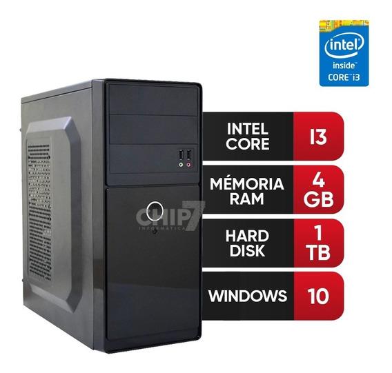 Pc Intel Core I3, 4gb Ram Ddr3, Hd 1tb 12 X Sem Juros