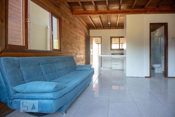 Casa Em Condomínio Mobiliada Com 2 Dormitórios E 1 Garagem - Id: 892937739 - 237739