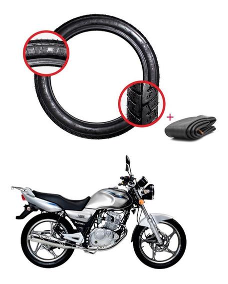 Pneu Amazon Dianteiro 2.75x18 Suzuki Yes 125 150 C/ Câmara
