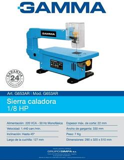 Sierra Caladora De Banco Gamma 85w 1/8 Hp