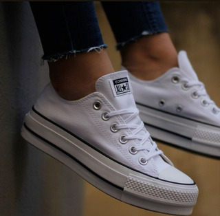 converse all star blancas 34