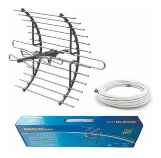 Antenas Aéreas Para Tdt + Cable Coaxial
