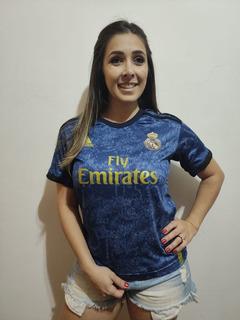 Camisa Real Madrid 19-20 Feminina 2 Baby Look Envio Imediato