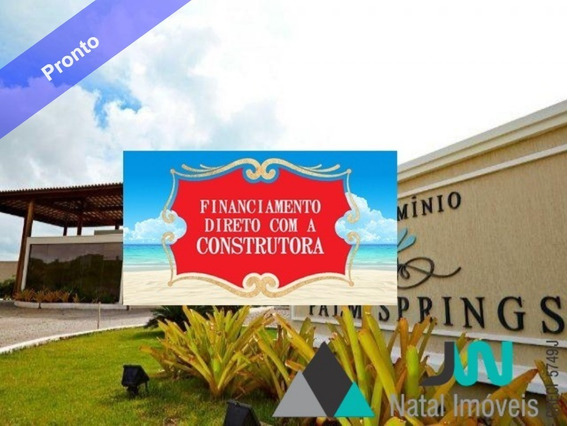 Lote Em Condomínio Fechado Na Beira Mar Da Praia De Muriú - Te00002 - 2547806