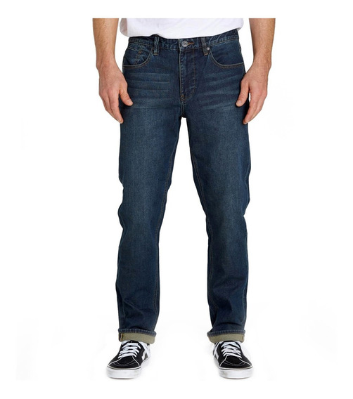 Pantalon Jean Billabong Slim Deep Blue Indigo Hombre