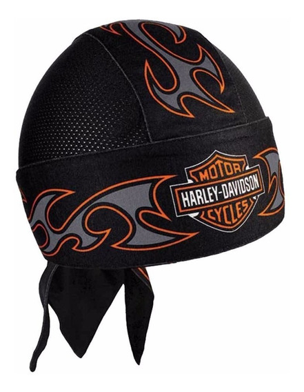 Harley Davidson Bandana Skull Cap Tribal Original Import Eua