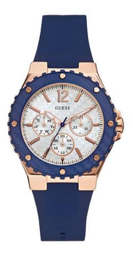 Reloj Para Dama Guess Overdrive W0149l5 Azul