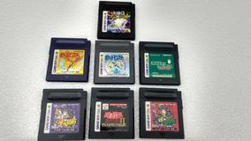 7 Jogos Game Boy Color Originais
