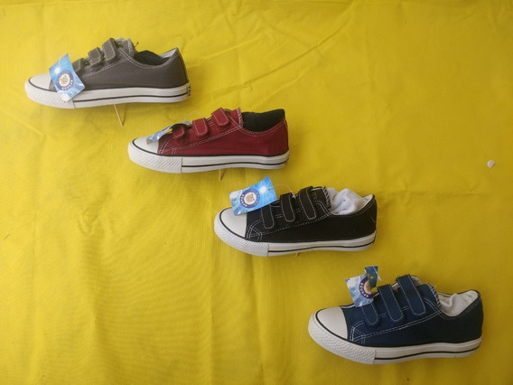 Zapatos Deportivo Unisex Tipo Converse