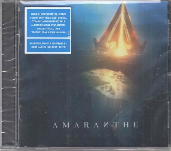 Cd Cd Amaranthe Manifest C/ Bonus Amaranthe