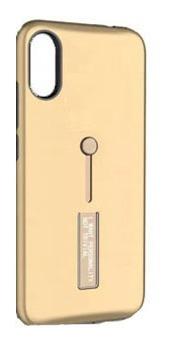 Protector Samsung A10 Anillo Y Soporte Color Dorado
