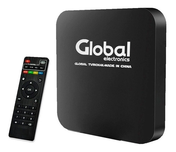 Conversor Smart Tv 4k Android Box Quad Core Tele