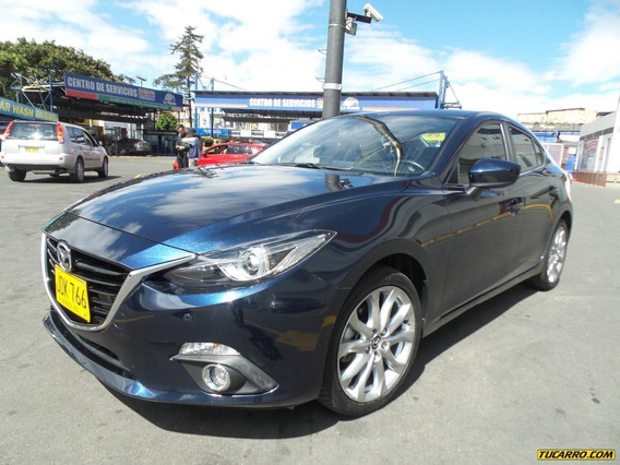 Mazda 3 Gran Touring 2017 Motor 2000 Color Azul