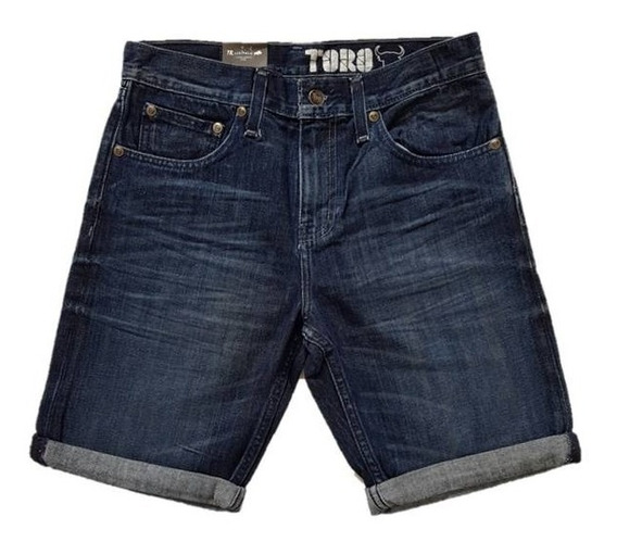 Bermuda Short Mezclilla Hombre Toro Thunder Slater Tms00117